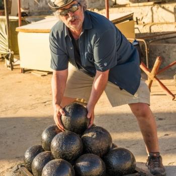 Cannonballs at La Cabaña